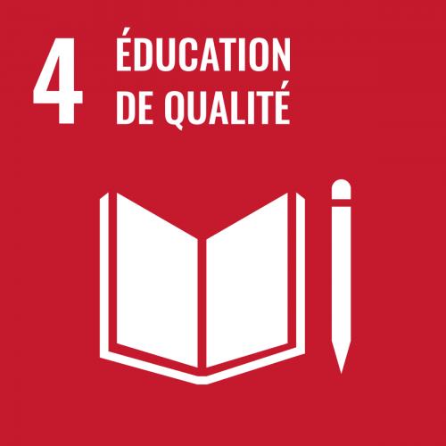 Assurer l'accès de tous à une éducation de qualité, dans des conditions d'équité, et promouvoir lespossibilités d'apprentissage tout au long de la vie
